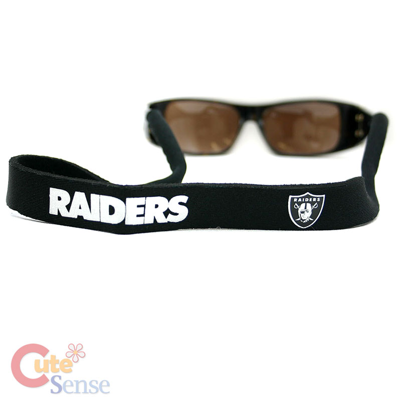 Sunglasses Holder  nfl oakland raiders sunglasses holder strap neoprene ebay