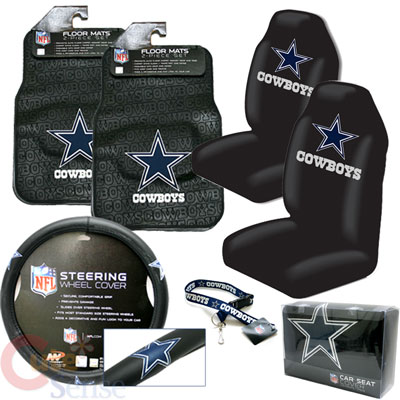 Awesome Dallas Cowboys Car Seat Cover Auto Accessories Set 6Pc On Alphanode Cool Chair Designs And Ideas Alphanodeonline