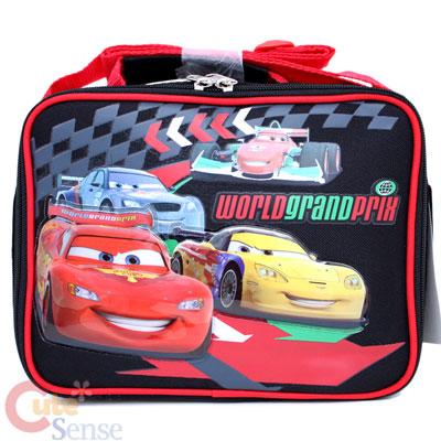 Disney Pixar Cars Mcqueen Lunch Bag Top Lacer