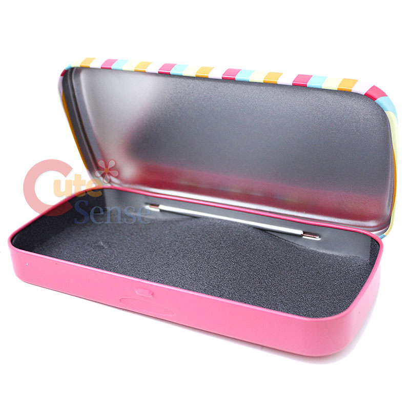 Paul Frank Bedroom In A Box: Paul Frank Metal Pencil Case -Red Classic 8x4 Licensed