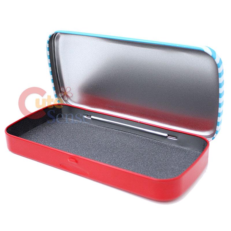 Paul Frank Bedroom In A Box: Paul Frank Metal Pencil Case -Blue Nerds 8x4 Licensed