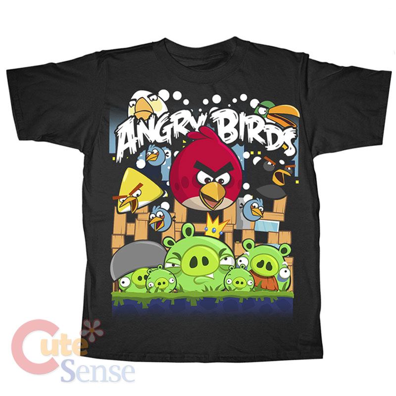Angry Birds Clothing. Showing 48 of results that match your query. Search Product Result. Komar Kids Big Boys' Angry Birds Micro Fleece Blanket Sleeper. Clearance. Product Image. Product - Youth: Angry Birds Space - Stares Apparel Kids T-Shirt - Blue. Product Image. Price $ .