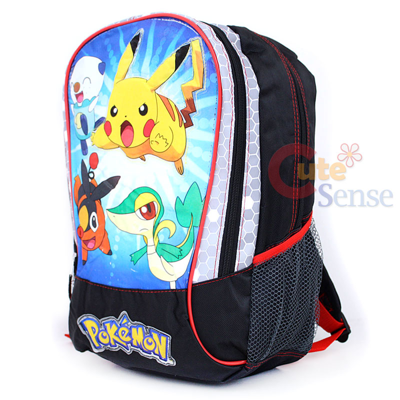 Details about Pokemon Pikachu School Backpack Pokemon Battlefield 16 ...