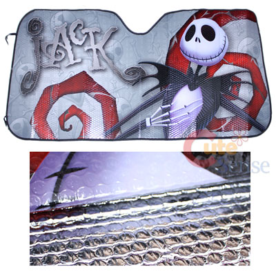 Nightmare Before christmas Jack Front Window sun Shade NBC Auto Accesories 2.jpg