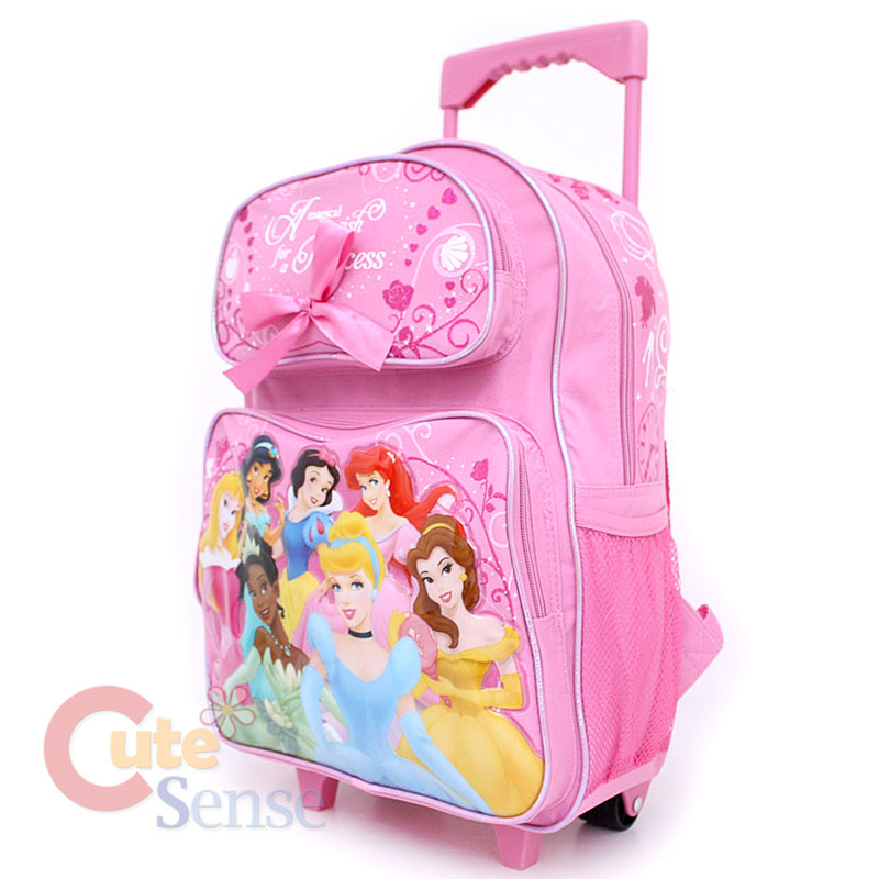 Princess Rolling Backpack | Frog Backpack
