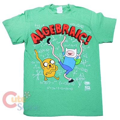 e560740a5da Adventure Time T Shirts Algebraic 1 on PopScreen