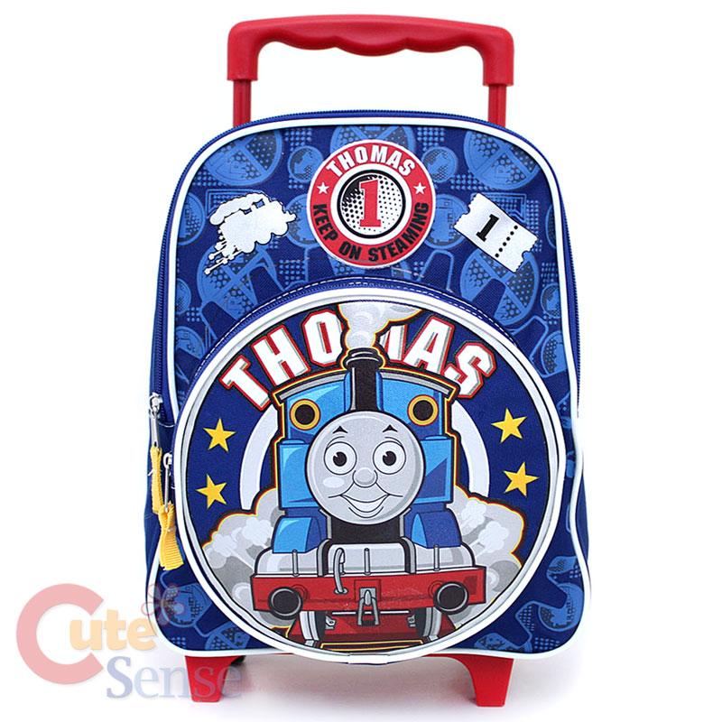 Thomas Tank School Roller Backpack Rolling Bag 12 M