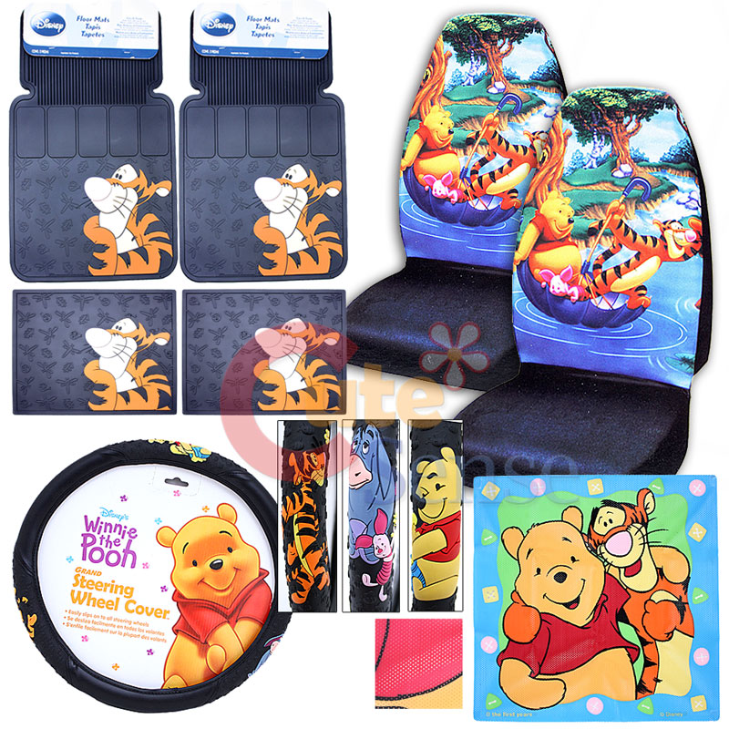 Winnie The Pooh Car Seat Covers Baby
