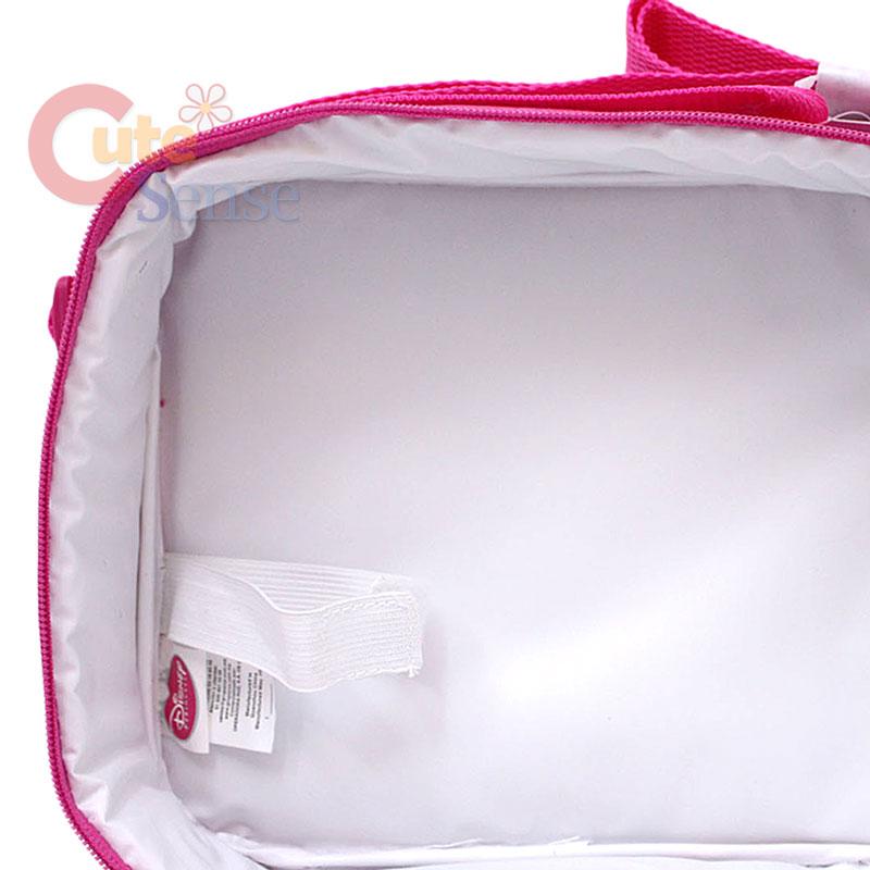 Disney Princess Tangled School Roller Backpack Lunch Bag 8