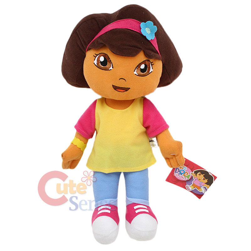 "Dora the Explorer Dora Plush Doll Toy -12"" Large Stuffed Toy Jean ...: http://ebay.com/itm/dora-the-explorer-dora-plush-doll-toy-12-large-stuffed-toy-jean-/250954672719"