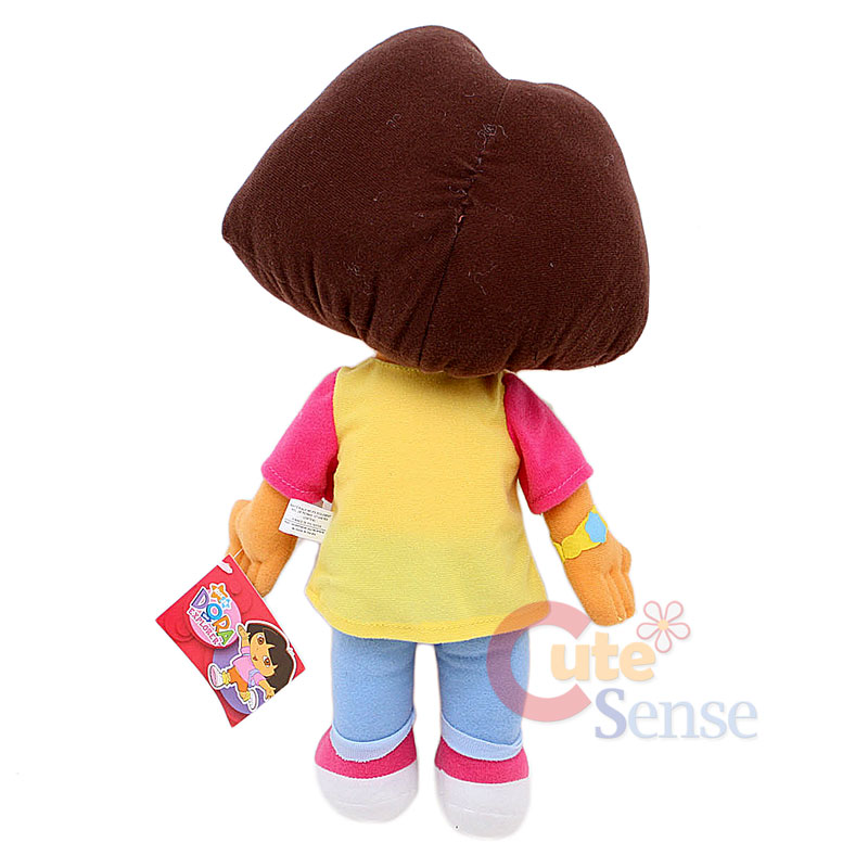 "Dora the Explorer Dora Plush Doll Toy -12"" Large Stuffed Toy Jean ...: http://ebay.com/itm/dora-explorer-dora-plush-doll-toy-12-large-stuffed-toy-jean-/250954672719"