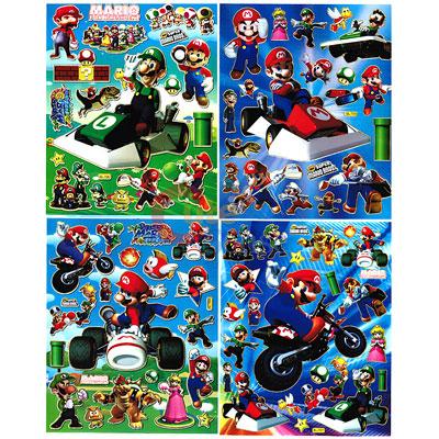 Mario Sticker Book ✓ Satu Sticker