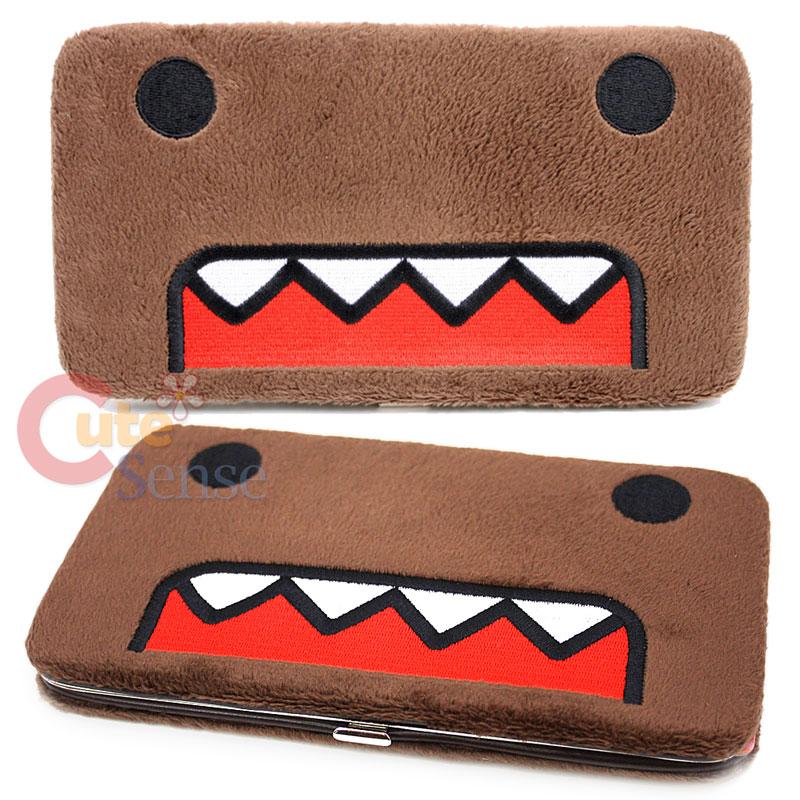 Domo Kun Plush Face Flat Wallet Hinge Wallet Licensed | eBay