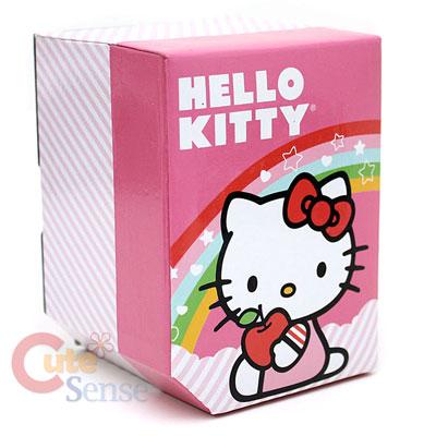 Sanrio Hello Kitty Black Wrist Watch w/PendentLicensed Stainless