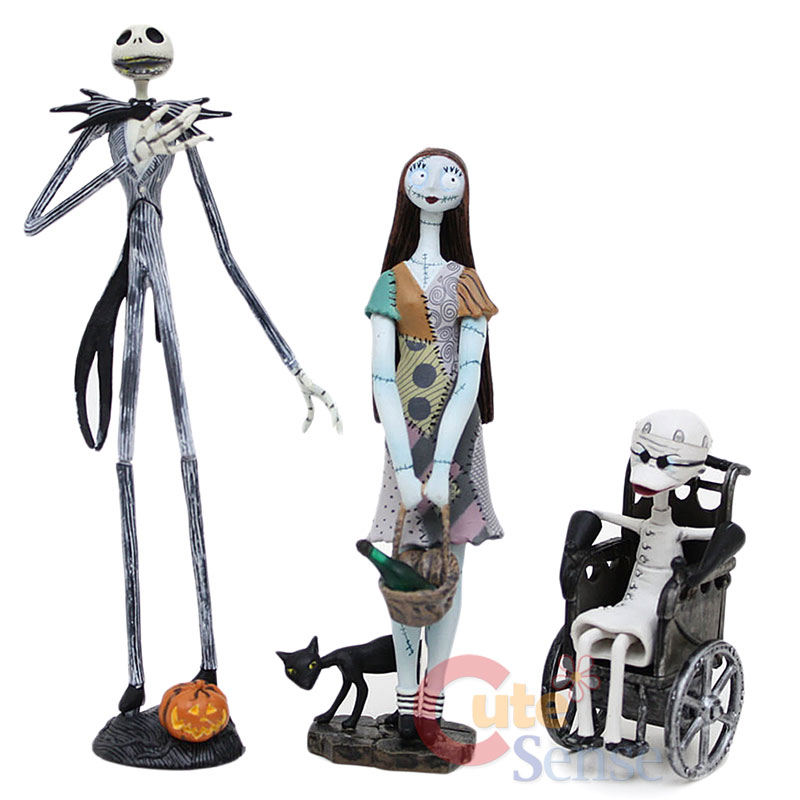 Details about Nightmare Before Christmas Trading Figures Series 1 NBC ...