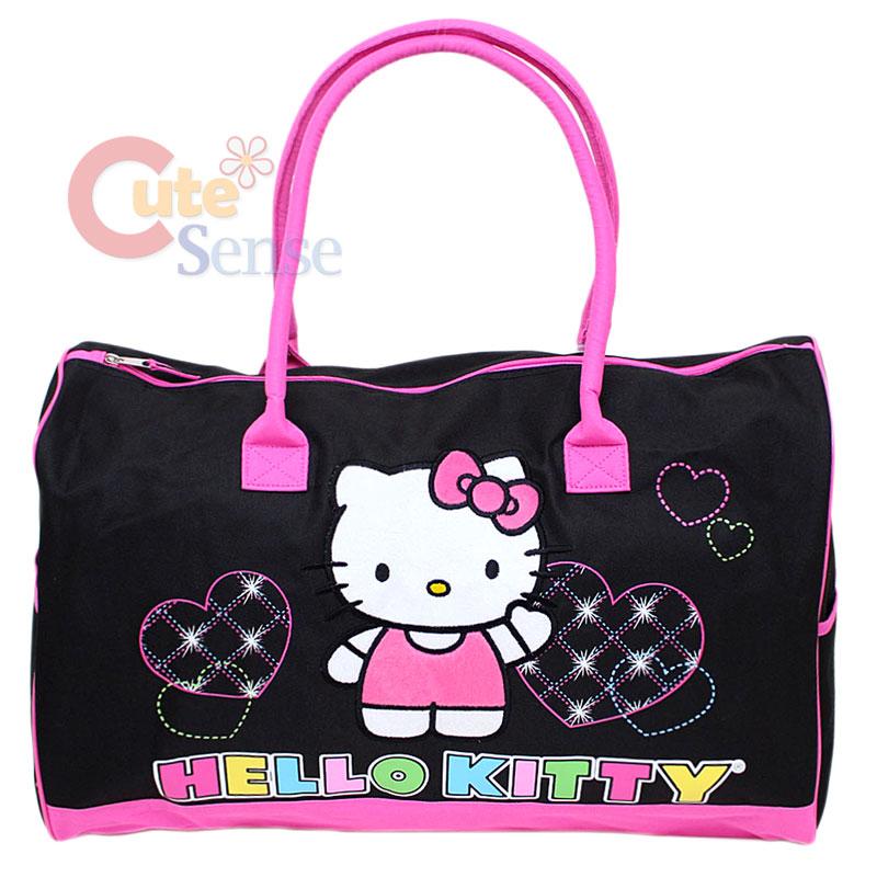 ae2caf9243af Sanrio Hello Kitty Duffle Bag Travel Gym 20