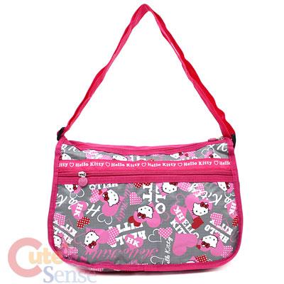 Sanrio Hello Kitty Hand Bag / Shoulder Bag  Pink Love Licensed