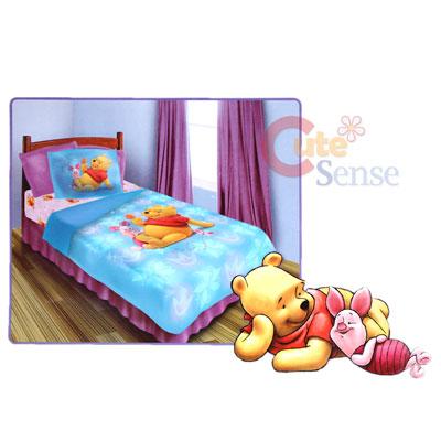 Super Mario Bedding Sets on Pooh   Piglet Twin Bedding Comforter Set  3pc 087918815179   Ebay