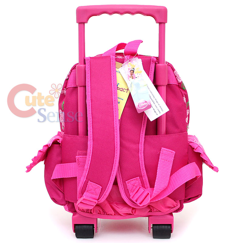 f39d3db11a7 Disney Princess Tangeld School Roller Backpack Rolling Bag 4 on ...