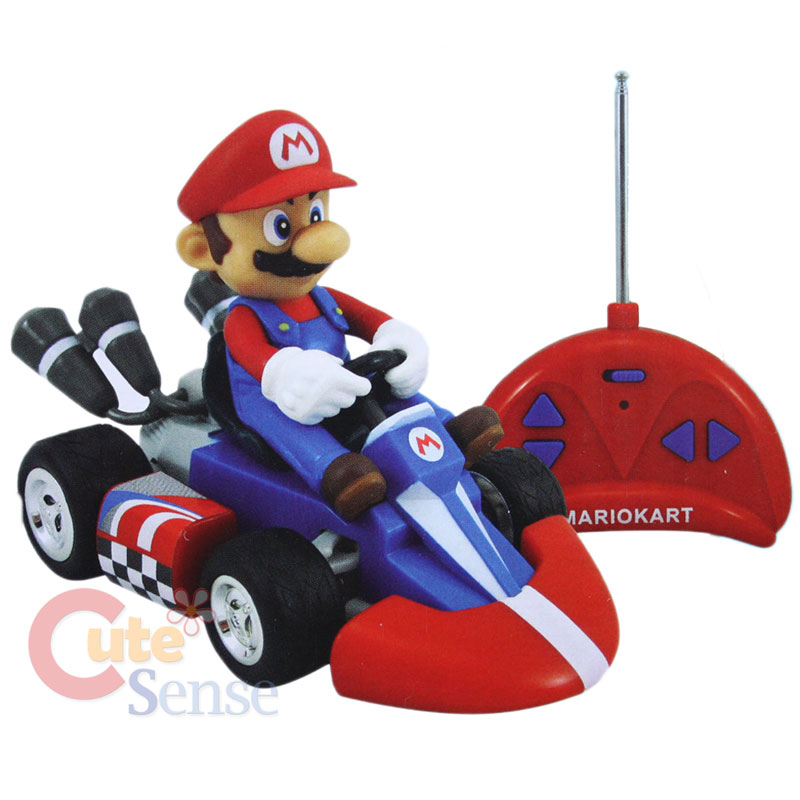nintendo super mario kart wii mini radio control kart. Black Bedroom Furniture Sets. Home Design Ideas