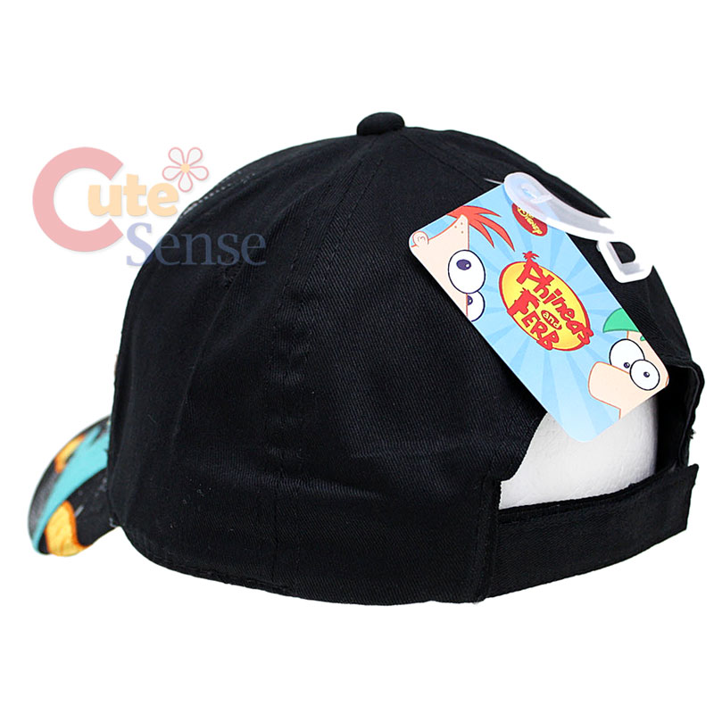 e0a523639 Phineas and Ferb Agent P Adjustable Baseball Cap  Kids Hat on PopScreen