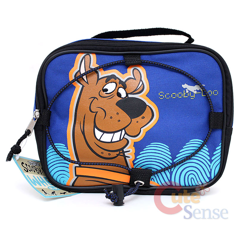 Details about Scooby Doo School Lunch Bag / Insulated Snack Food Box