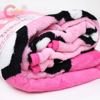 Sanrio Hello Kitty Microfiber Plush Throw Blanket Pink Flower Awesome Hello Kitty Fleece Throw Blanket