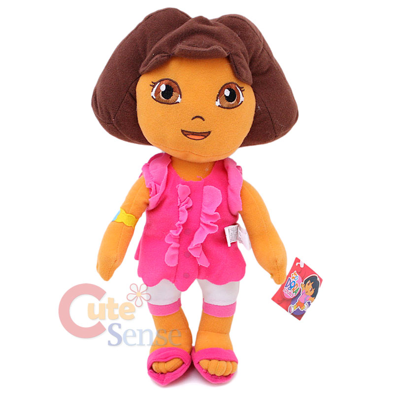 "Details about Dora the Exlpore Dora Plush Doll 15"" Large Stuffed Toy ...: http://www.ebay.com/itm/Dora-the-Exlpore-Dora-Plush-Doll-15-Large-Stuffed-Toy-with-Pink-Dress-/400518698556"