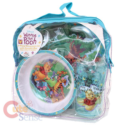 sc 1 st  Cutesense.com & Winnie Pooh \u0026 Friends 3Pc Kids Dining / Dinnerware Set