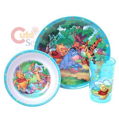Winnie The Pooh and Friends Dinner Set Bowl Set 2.jpg