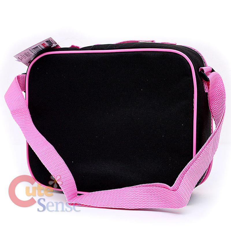 Sanrio Hello Kitty School Lunch Bag / Snack Box Love Teddy Bear Black