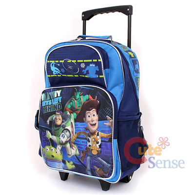 Disney Toy Story School Roller Backpack Large Rolling Lunch Bag 2