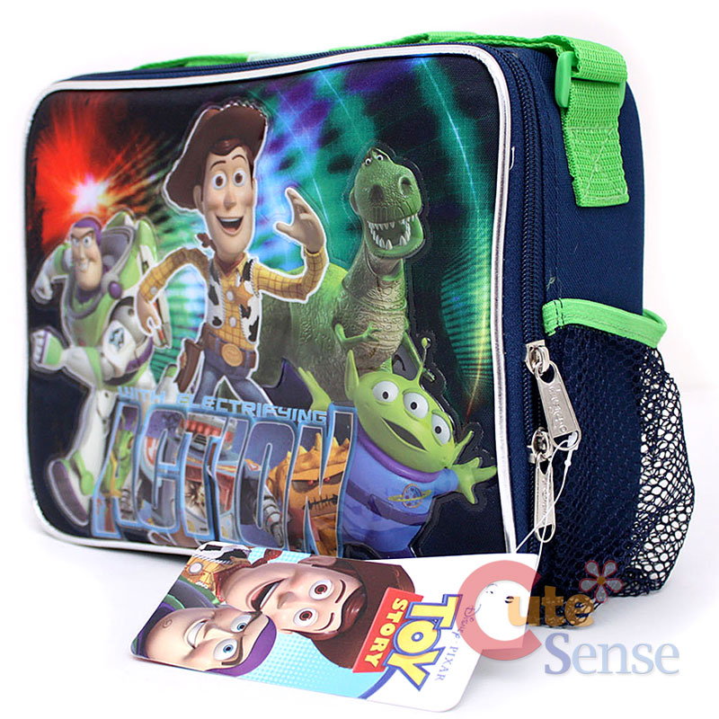 Disney Toy Story School Roller Backpack Large Rolling Lunch Bag 6