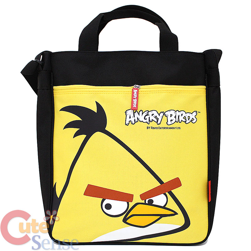 Angry Birds Yellow Shoulder Bag 101
