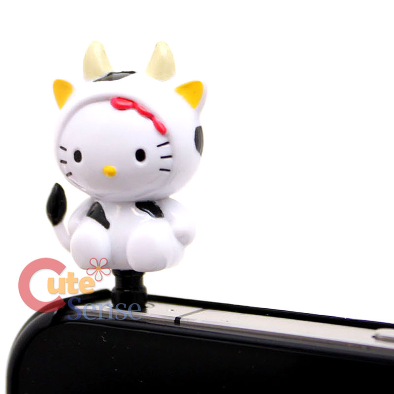 Sanrio Hello Kitty Phone Accessories Earphone Cap Topper 4
