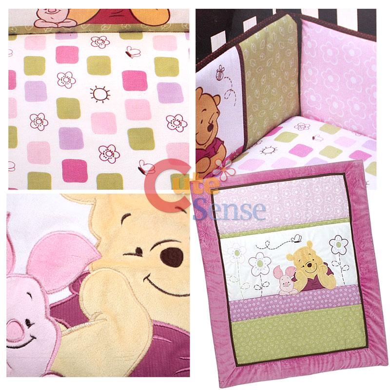 Pooh Bear Crib Bedding