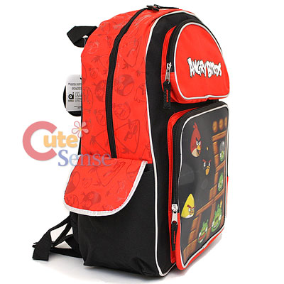 Rovio Angry Birds 3D School Backpack Large Bag 3.jpg