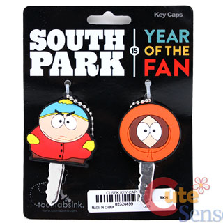 South Park Key Cap Auto Accessories Cartman Kenny 1.jpg