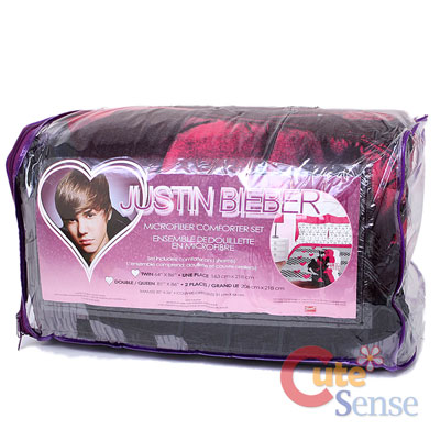 Justin Bieber Bedding on Justin Bieber Comforter Set Queen Bedding Set