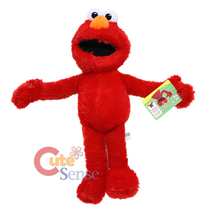 Sesame Street Elmo Toys : Sesame street elmo plush doll quot large stuffed toy figure