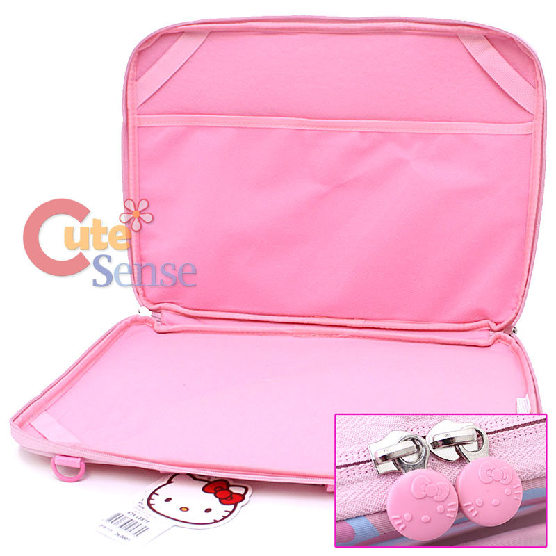 afcc1ee7939e Sanrio Hello Kitty 16 Laptop Bag Pink Formed Briefcase Notebook Case ...