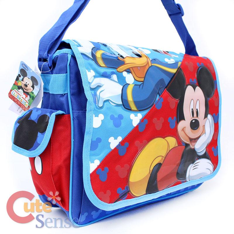Mickey Mouse Friends School Messenger Bag Diaper Bag 2