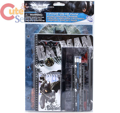 BatMan School Stationery Set Study Kit Dark Knight Rises 1.jpg