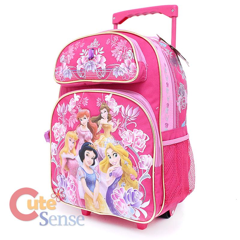 Princess Rolling Backpack | Crazy Backpacks