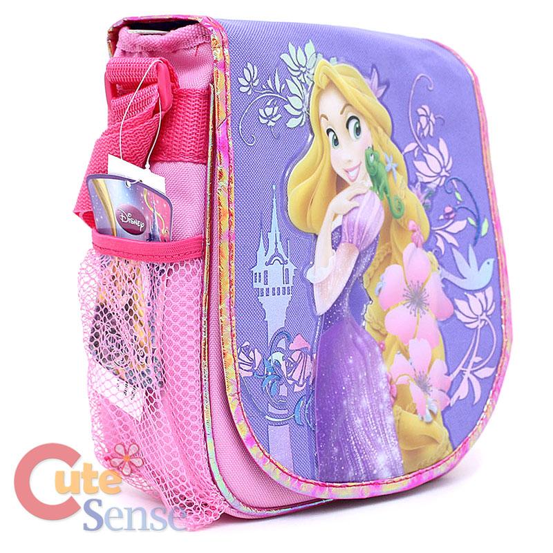 021c55662d6 Disney Princess Tangled Rapunzel School Large Backpack Lunch Bag Set ...