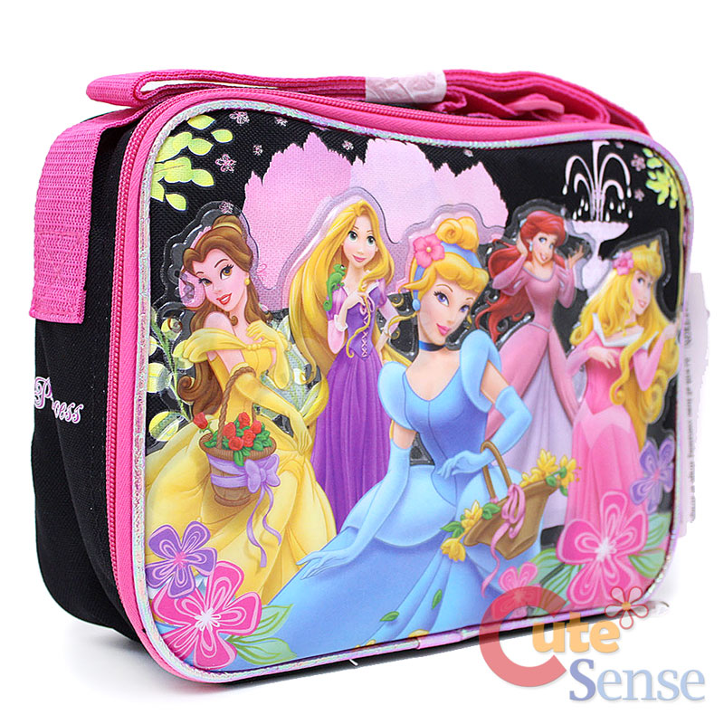 985c2da2544 Disney Princess School Backpack Large Bag Lunch bag set 6 on PopScreen