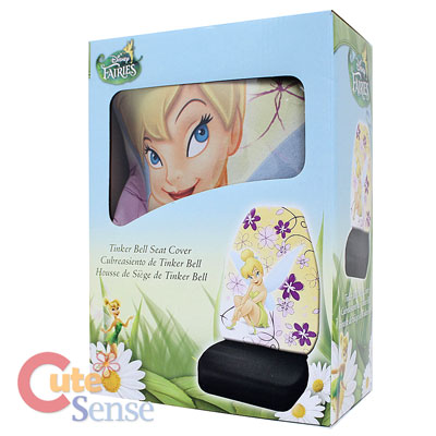 Astonishing Disney Tinkerbell Faires Front Car Seat Cover Set Dreamland Pabps2019 Chair Design Images Pabps2019Com