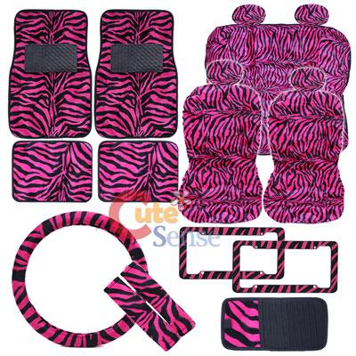 Pink Cheetah Car Seat Hot Pink Zebra Animal Car Seat