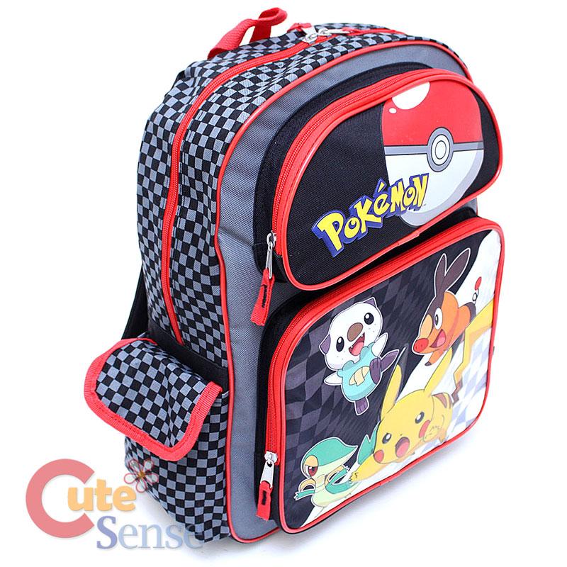 d7593f0d07ae 800 x 800 ebay.com. Pokemon 16 quot  Large School Backpack ...