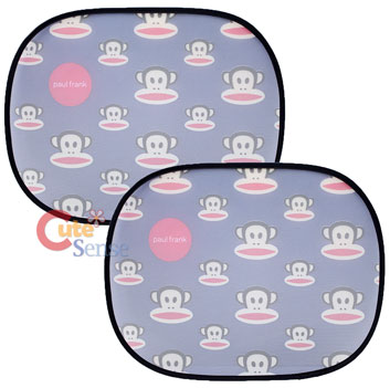 Paul Frank Julius Rare Window Sun Shade Auto Accessories Face